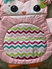 Baby Girl Owl Activity Mat Nwt