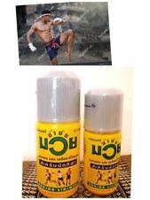(60cc)&(120cc)Muay Thai Namman Muay Boxing Oil Liniment Muscle Ache Pain Reliff