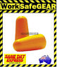 200 pairs of On SIte Safety Disposable uncorded Ear Plugs Class 5 27DB