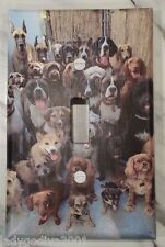 'New!' LARGER SIZE! Dog Pile - Light Switch Cover-FREE Shipping