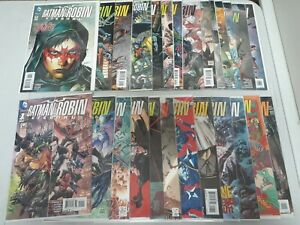 Batman & Robin: Eternal #1-26 Complete Series Set (2015-2016) DC Comics F to NM
