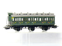 Märklin 4005 H0 3-achsiger Abteilwagen 2.Kl. der DB mit Bremserhaus, grün, OVP