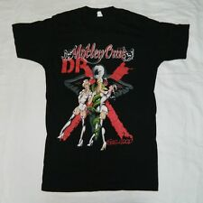 VTG MOTLEY CRUE 1989 DR FEELGOOD TOUR T-SHIRT M NAUGHTY NURSES NIKKI SIXX 80S