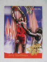 Jerry Stackhouse Philadelphia 76ers 1996 NBA Hoops Basketball Card 367