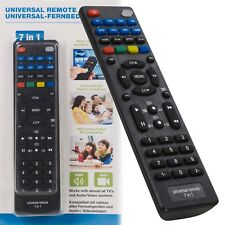 7 en 1 appareils Universal remote control replacement programmable TV DVD VCR Hifi