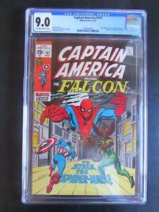 Captain America 137 CGC 9.0 Spider-Man The Falcon Harry Osborn