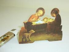 "Rarität Alte Originale geprägte Faltkrippe um 1960 Ars Sacra Verlag ""314"" Jesus"