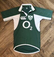 Ireland Rugby 2007 Canterbury Test Player Issue Shirt (S)