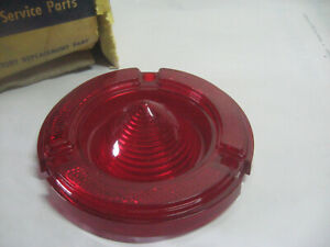1960 PONTIAC STARCHIEF BONNEVILLE TAILLIGHT LENS GM GUIDE 5951207 NOS