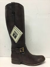 Frye Womens Melissa Knotted Tall Brown Riding Boots Size 7 M