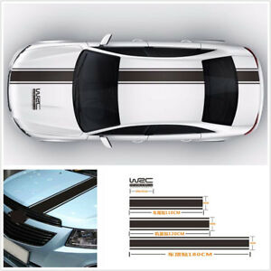Racing Car Body Cover /Trunk/ Roof /Tail Full Size Decal Vinyl Stickers