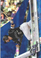 TREVOR STORY 2017 TOPPS CHROME SAPPHIRE EDITION #42 ONLY 250 MADE