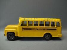 Hubley School Bus Pressed Steel Vintage Yellow