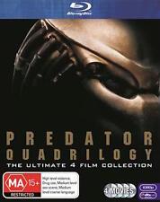 PREDATOR QUADRILOGY : NEW Blu-Ray