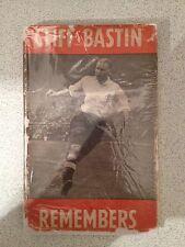 CLIFF BASTIN REMEMBERS ARSENAL FC MEGA RARE FOOTBALL BOOK