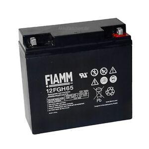 Blei-Gel Akku FIAMM 12FGH65 FGH21803 (hochstromfest) Bleiakku Accu Batterie Acku