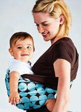 Brand New Baby SLING BABY CARRIER Blu al cioccolato che trasportano Dispositivo Chiusura Comfort