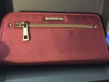 Travelon Women's RFID Wallet with Gift Box Solid Burgundy Free Ship