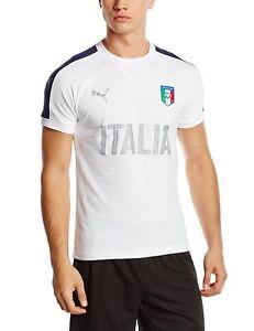 PUMA Figc Italie Casual Performance T-Shirt Homme Enfant T-Shirt Temps Libre