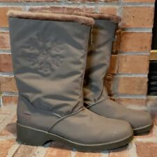 Women's Totes Taupe Snow Boots, Size 8