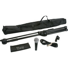 Galaxy Audio RT-66SXD Kit with Dynamic Microphone,Stand,Clip,Bag,15' XLR Cable