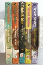 Trixie Belden Lot of 5 Whitman Hardcover Books Series
