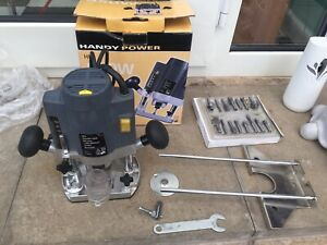 Nu Tool 1/4 Plunge Router Set