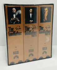 The Godfather Collection (VHS, 1997, 6-Tape Set) Part I II III New Sealed
