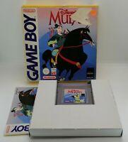 Disney's Mulan Video Game for Nintendo Game Boy BOXED TESTED