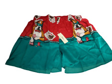 Vintage Snow Men's 100% Washable Silk Boxer Poker Dogs Cards Size XL