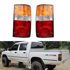 Pair Rear Lamp Tail Light For Toyota Hilux MK3 LN RN YN Pickup 2-4WD 1989-1995