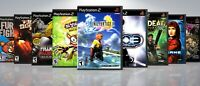 Replacement PlayStation 2 PS2 Titles E-F Covers and Cases. NO GAMES!