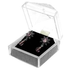 Wholesale Lot 48 Clear Crystal Style Earring Jewelry Display Gift Boxes