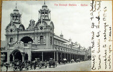 1907 Durban, South Africa Postcard: The Borough Markets