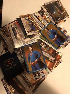 SUPERMAN RETURNS -  Mixed Trading Card Lot + BONUS Rare Costume Card