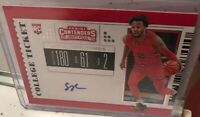 SHAMORIE PONDS 2019 CONTENDERS DRAFT PICKS COLLEGE TICKET ROOKIE AUTO NK23D