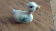 Vintage Hagen Renaker Cygnet baby swan water figurine ceramic miniature animal