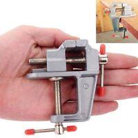 Aluminium kleine Juweliere Hobby Clamp auf Tisch Schraubstock Mini-Tool
