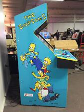 Simpsons Side Art - Arcade Video Game - Konami Dedicated Cab