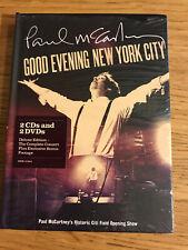 PAUL McCARTNEY GOOD EVENING NEW YOR CITY 2CD+2DVD DELUXE EDITION