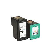 HP 96+HP 97 Reman Ink Cart 56% More Officejet 6200 6210 k7100 7210 7310 7410