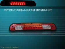 2000-2006 TOYOTA TUNDRA LED 3RD THIRD BRAKE LIGHT RED CLEAR