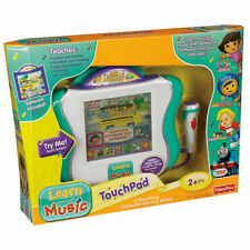 FISHER PRICE LEARN THROUGH MUSIC TOUCH PAD NEW