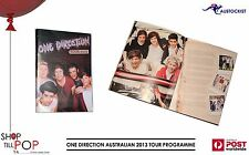 One Direction 2013 World Tour Programme Mint Con Australian Tour Pop Music