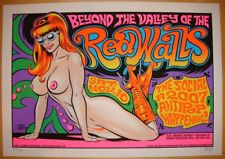 2007 The Redwalls - Orlando Silkscreen Concert Poster s/n by Stainboy