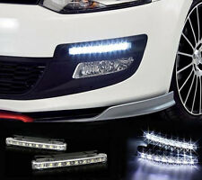 One Pair - Car Universal Fitting HyperWhite® 8 LED Daytime Running Lights (DRL)