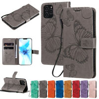 Butterfly Wallet Leather Flip Cover Case For iPhone 12 Pro 11 7 8 Plus XR XS Max