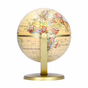 World Globe Geography Globe Rotating Globe for Office for Home for School