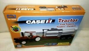 Imex #39509 Case IH Tractor w Tanker Trailer & Farmer 151 Pieces Building Blocks