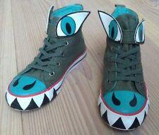 Mega coole Sneaker Dragon Drachen Klettverschluss Gr. 29 Neuwertig Statement
